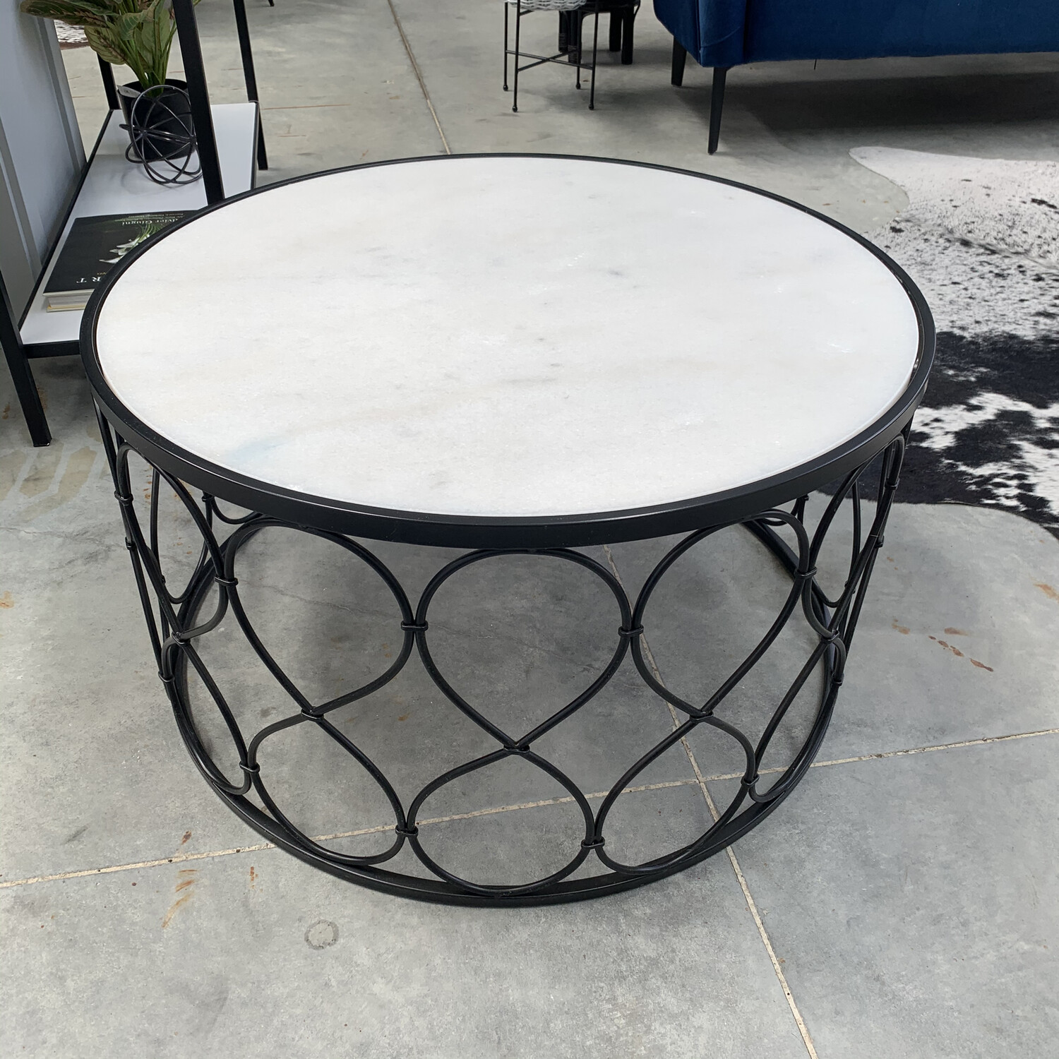 MARBLE COFFEE TABLE - SMALL