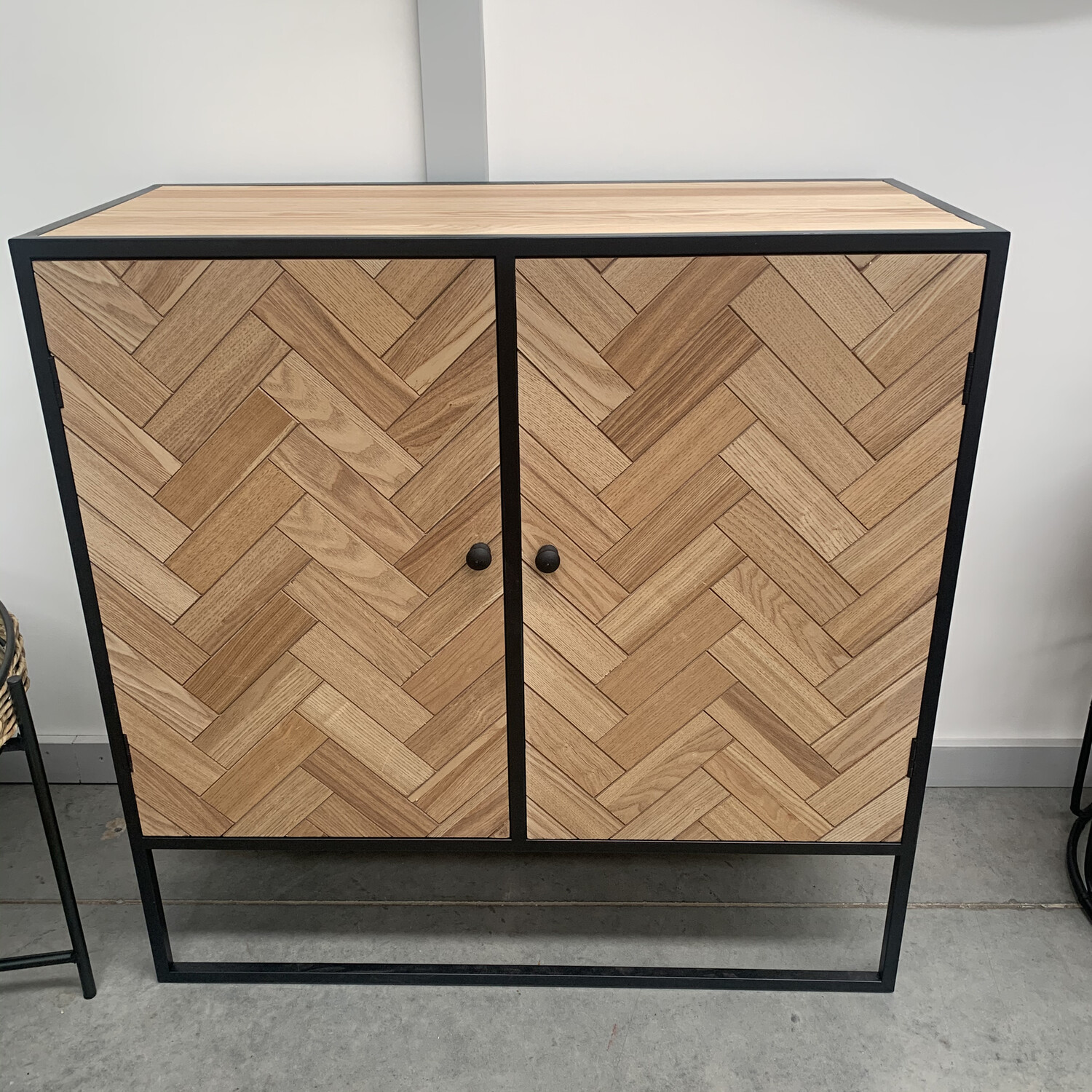 PARQUETRY STYLE CABINET