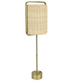 RATTAN METAL TABLE LAMP