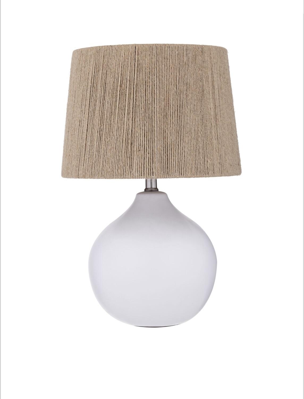 NATURAL CERAMIC TABLE LAMP