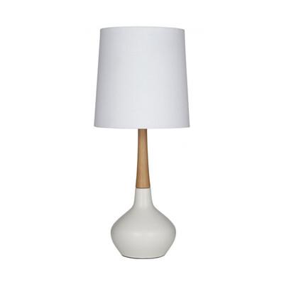 ELKE TABLE LAMP WHITE