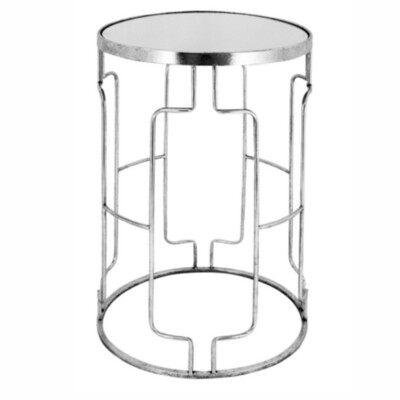 FURNITURE - SILVER SIDE TABLE LARGE