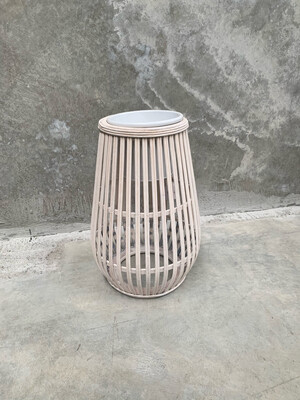 BAMBOO COASTAL PLANTER - SMALL