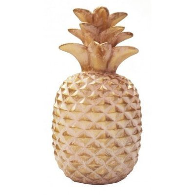 PINK AND GOLD PINEAPPLE 15 cm