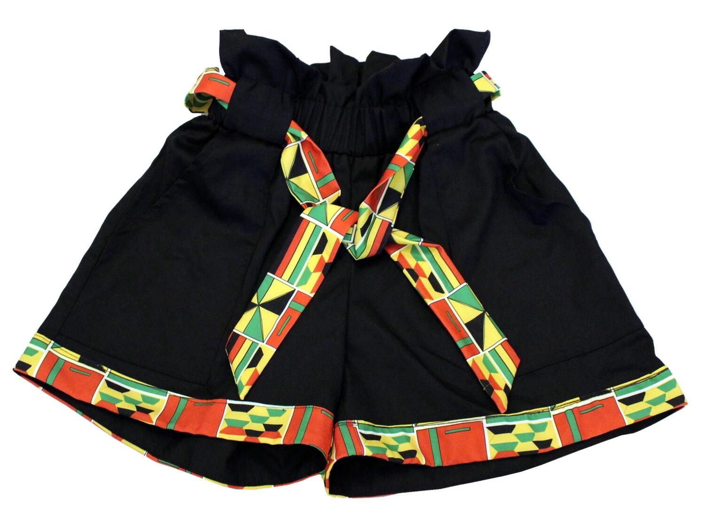Zim Kente Shorts