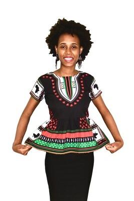 PAN African Dashiki Ladies Tops
