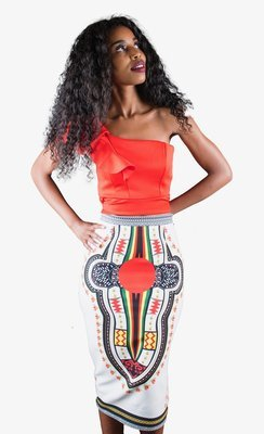 Zim Dashiki Skirt