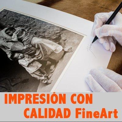Impresión con calidad FineART