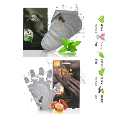 INTENSIVE HAND & FEET TREATMENT GLOVES & SOX Duo by Voesh New York
