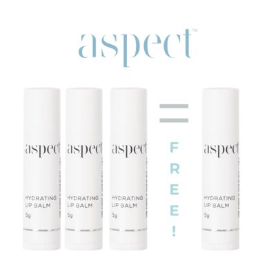 ASPECT Hydrating Lip Balm - 3 PACK - 24gm