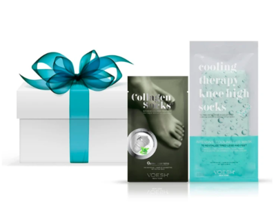 Cooling Collagen Foot Pack