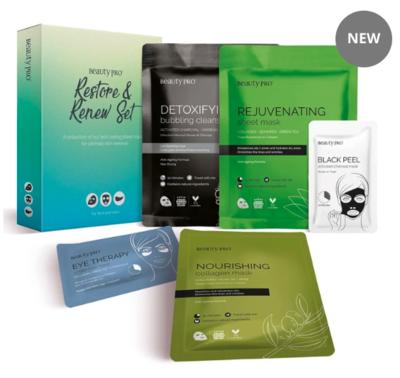 BeautyPro Restore & Renew 5 Mask Set