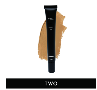 ASPECT MINERALS - Liquid TWO Med|Neutral - Liquid Foundation 28ml