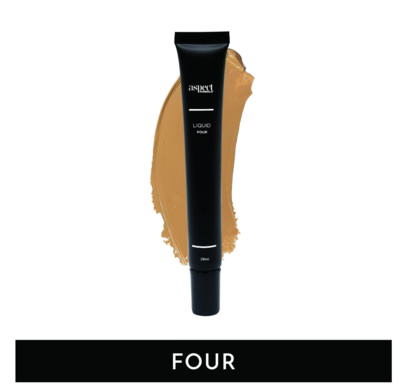 ASPECT MINERALS - Liquid FOUR Medium Tan | Warm - Liquid Foundation 28ml
