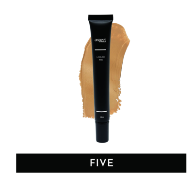 ASPECT MINERALS - Liquid FIVE Tan | Warm - Liquid Foundation 28ml