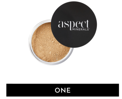 ASPECT MINERALS - POWDER ONE Fair | Warm - LOOSE MINERAL POWDER SPF 25