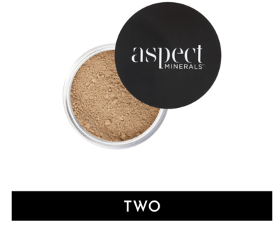 ASPECT MINERALS - POWDER TWO Fair |Neutral - LOOSE MINERAL POWDER SPF 25