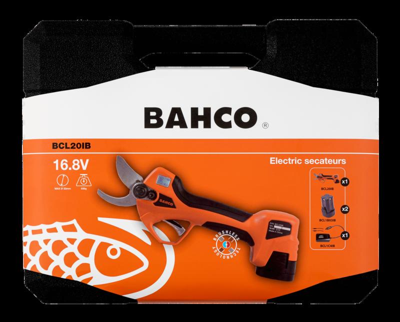 CESOIE A BATTERIA BAHCO BCL20IB+IN OMAGGIO FODERO PER FORBICE