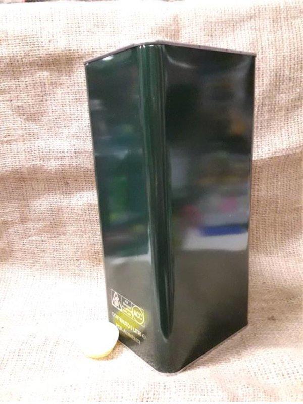 Lattina 5 lt. verde con tappo (confezione da 8 pz) 60x25x32 h