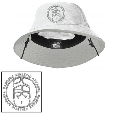 WHITE/GREY BUCKET HAT