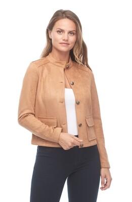 FDJ-Faux Suede Jacket
