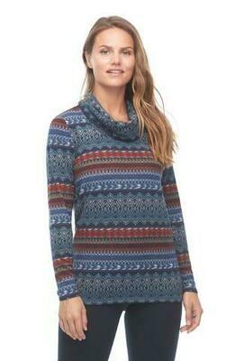 FDJ-Fairisle Print Sweater