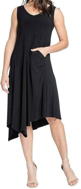 Sympli Slant Pocket Dress
