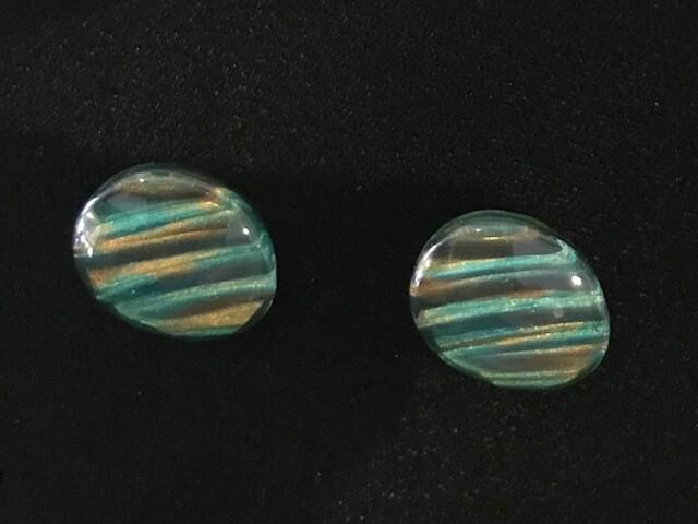 Zsiska Earrings-Eden emerald multi