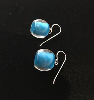 Zsiska Earrings-Colourful Beads Short Teal