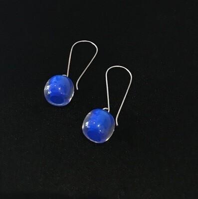 Zsiska Earrings-Colourful Beads Long Royal