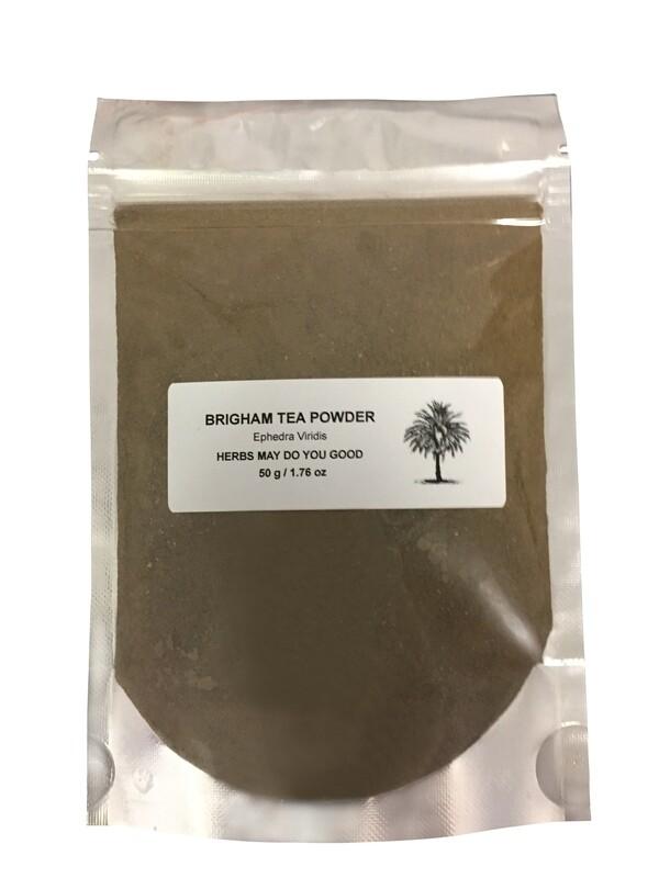 Brigham Tea Powder  50 Grams