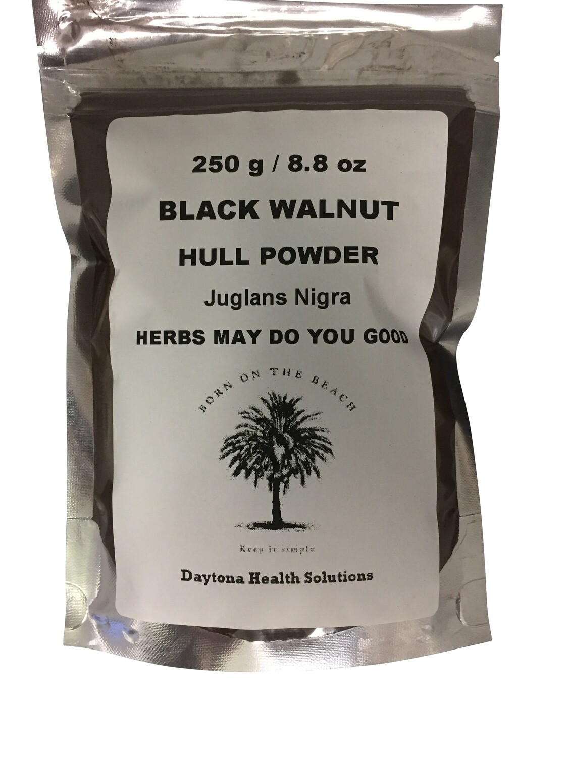 Black Walnut Hull Powder 250 g / 8.8 oz