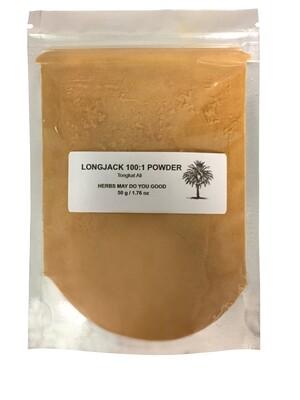 Longjack Tongkat Ali 100:1 Extract Powder 50 g / 1.76 oz
