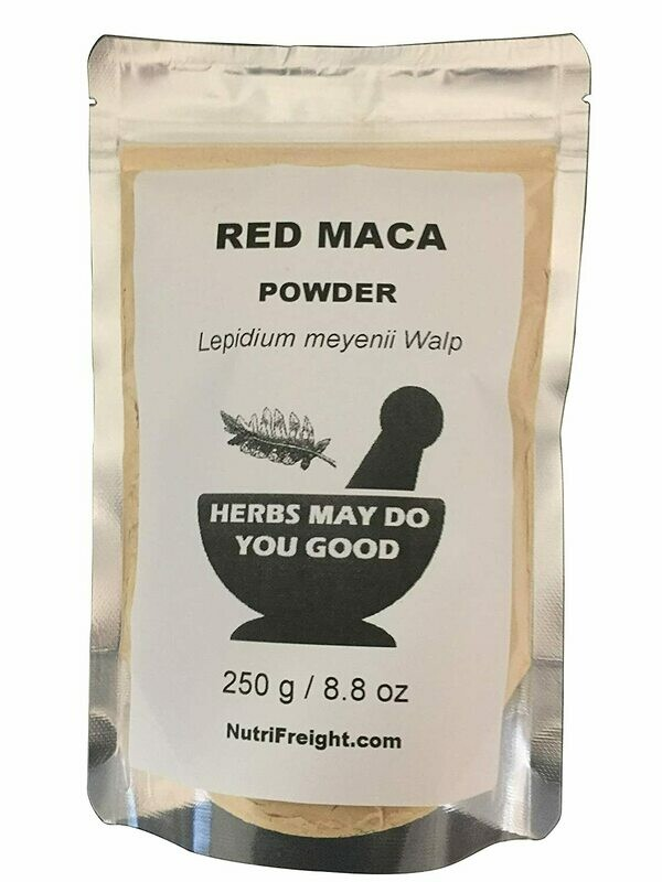 Red Maca Powder Herbs May Do You Good Trusted Brand 250 g /8.8 oz
