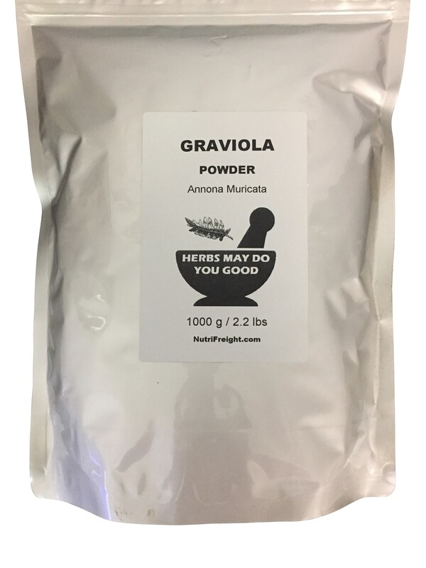 Graviola Powder Herbs May Do You Good Trusted Brand 1000 g / 2.2 lbs