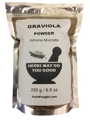 Graviola Powder Herbs May Do You Good Trusted Brand 250 g / 8.8 oz