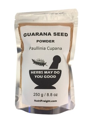 Guarana Powder Herbs May Do You Good Trusted Brand 250 g / 8.8 oz