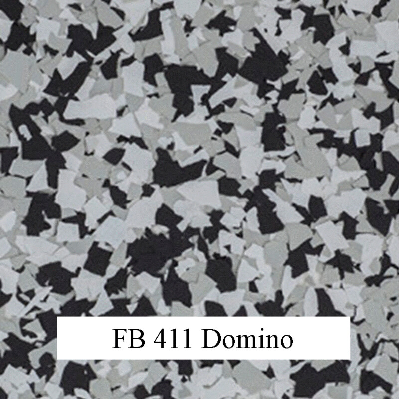 flocons de vinyle domino