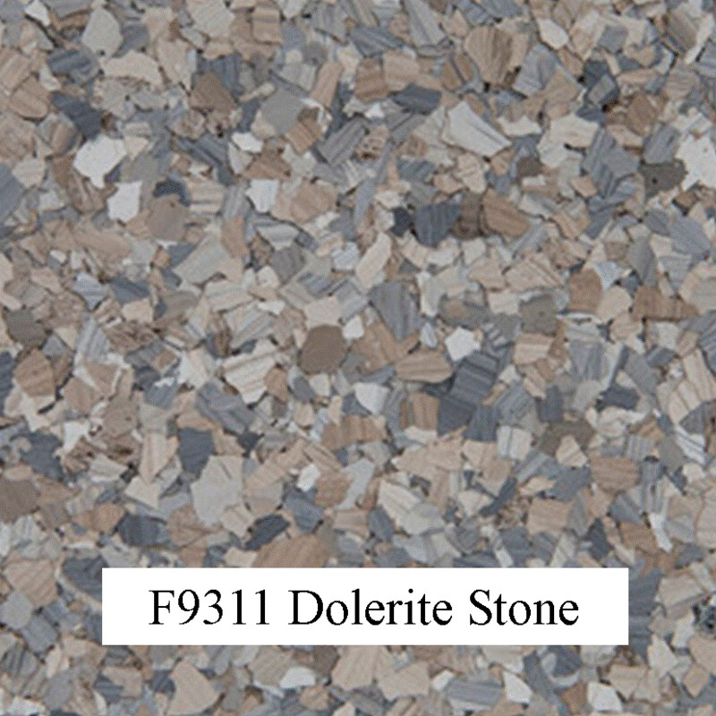 flocons de vinyle Dolerite Stone