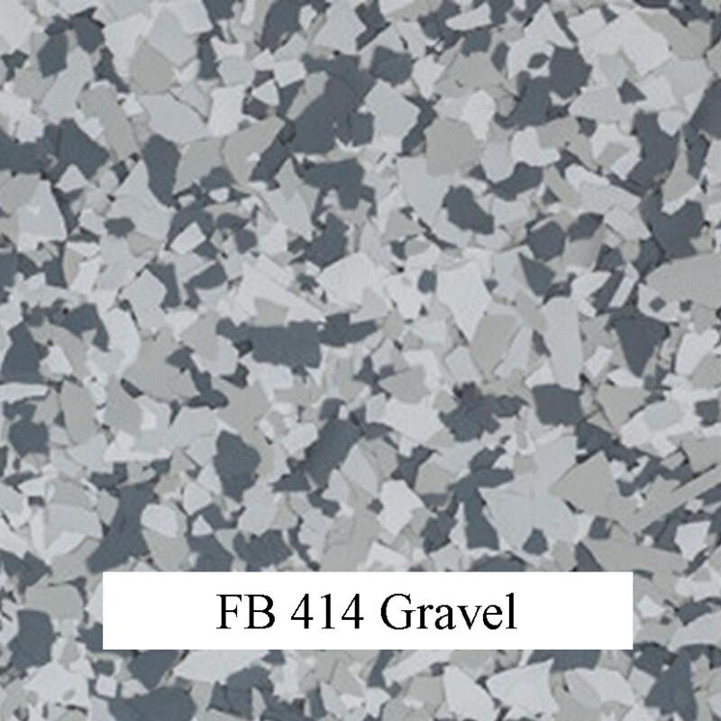 flocons de vinyle Gravel