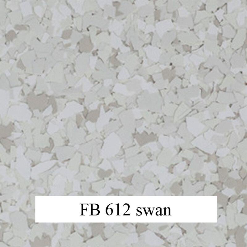 flocons de vinyle Swan