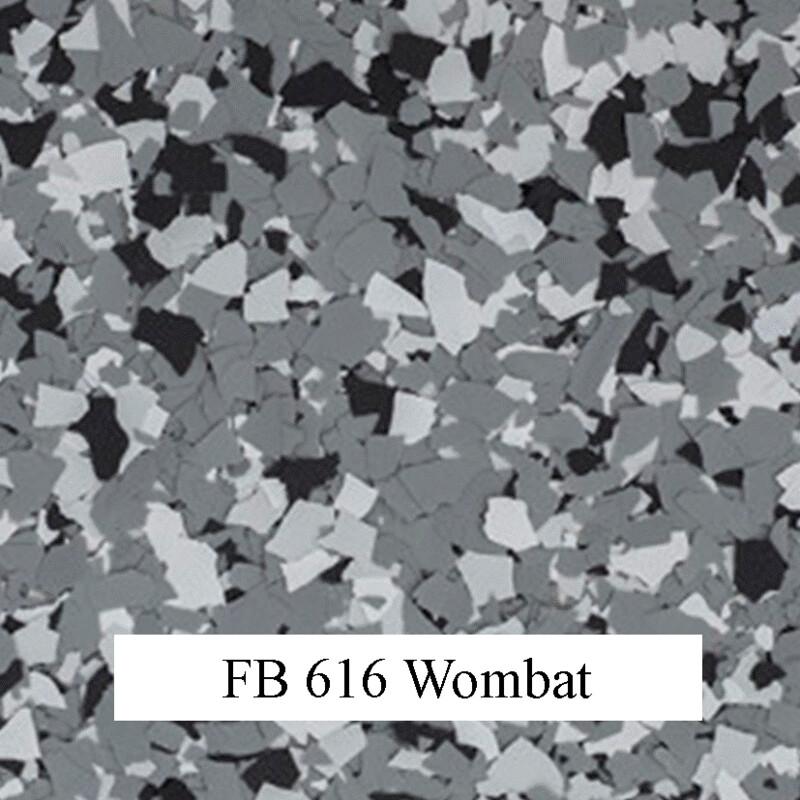flocons de vinyle Wombat