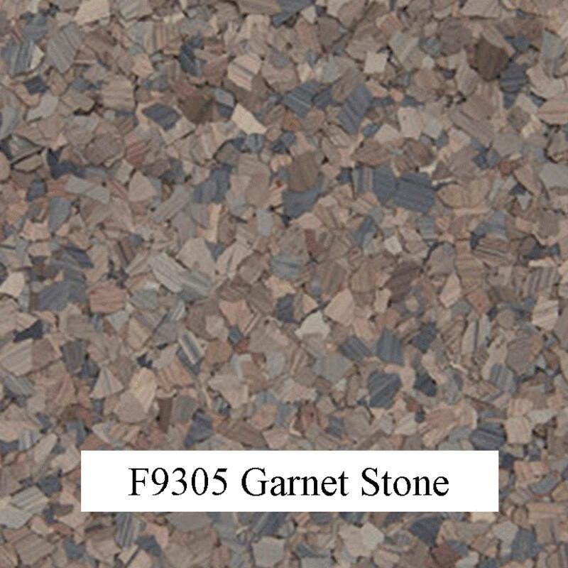 flocons de vinyle Garnet Stone