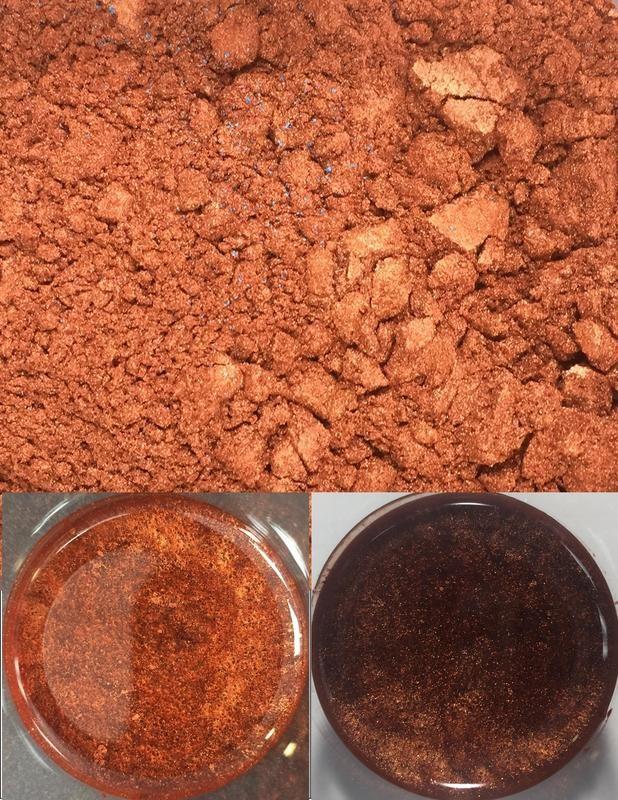 metallic pigments copper/pigments métalliques cuivre