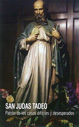 Estampita de San Judas con oración (Español)