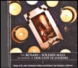Lourdes Rosary and Mass CD