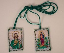 Our Lady of Guadalupe with St. Jude Scapular