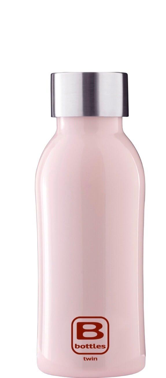 B Bottle Twin 350 ml Light Pink