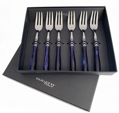Arianna Cake Forks Set blue