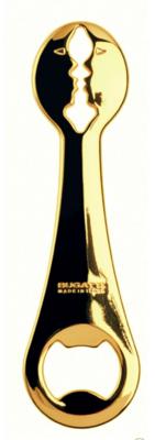 Kiss 24 Karat Gold Plated Bottle Opener